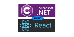 csharp with react