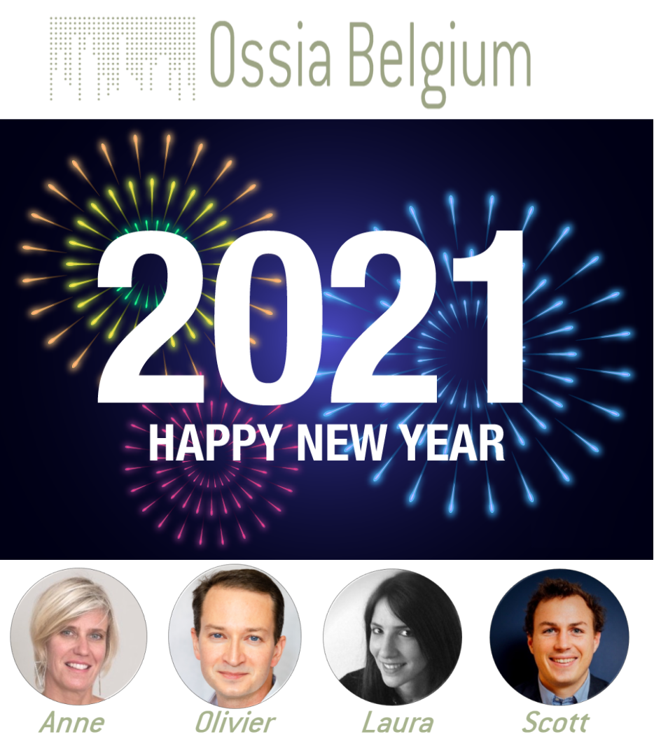 Ossia Belgium wish you a happy new year